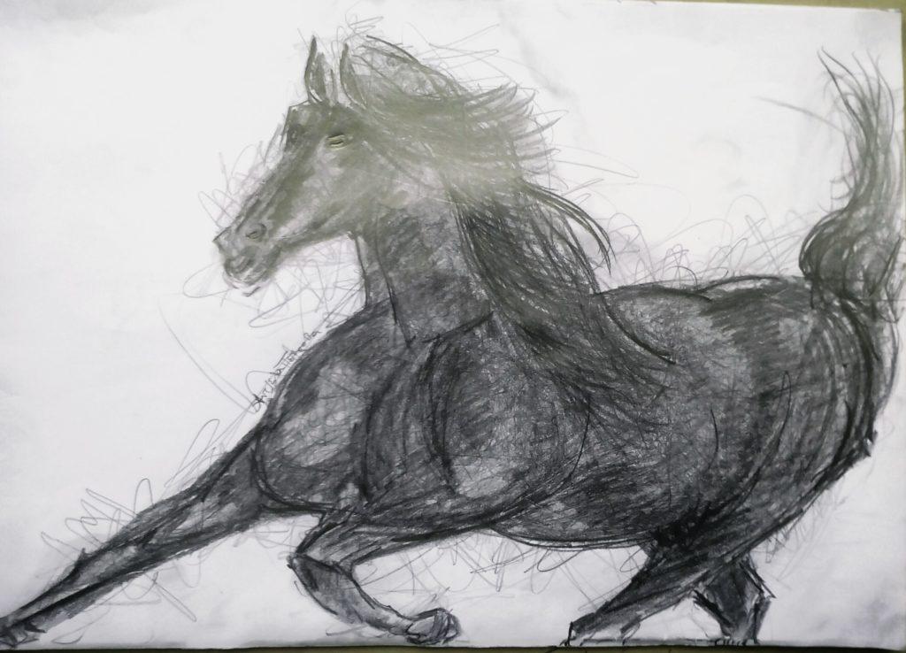 The Black Beauty Art Angeliki Petrova